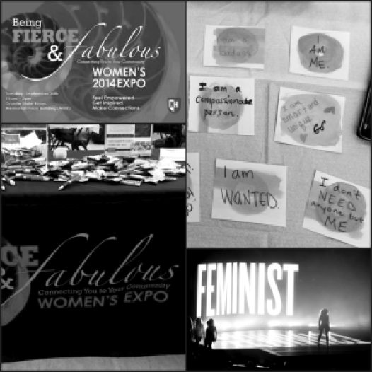 Hadley Barndollar/contributing The feminist movement is one of the most controversial and conversational issues buzzing around the media lately, including on campus. On Tuesday, Health Services and SHARPP sponsored a women's expo, offering resources and knowledge to women in the community.